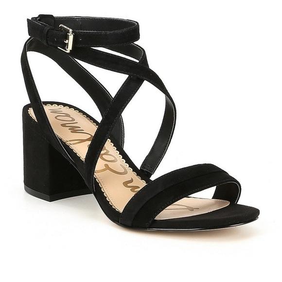 ba314772e82 HP ✨Sam Edelman Suede Block Heel Sandal. M 5b5039a31b329411af008c3b. Other  Shoes ...